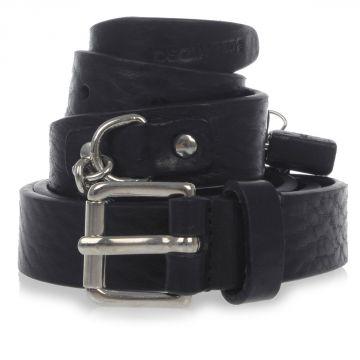 Cintura in Pelle con Lucchetto