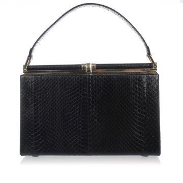 Python skin Hand Bag