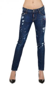 Jeans CLEMENT in Denim Destroyed 15 cm