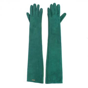 Long Suede Gloves