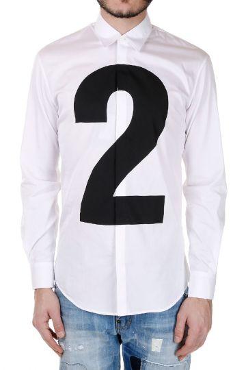Camicia in Popeline di Cotone 2 Stampato
