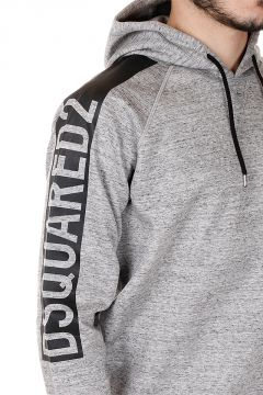 Felpa SEXY MUSCLE FLEECE FIT stampata
