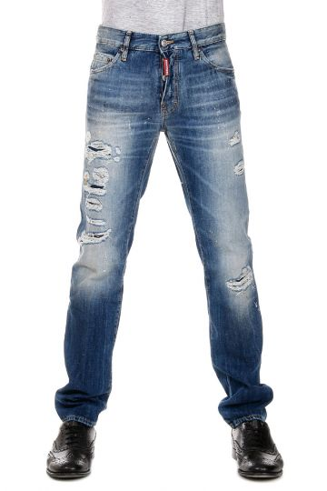 Jeans DEAN JEAN Denim Destroyed 18 cm
