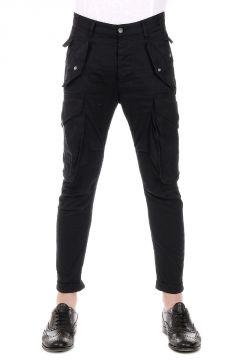 Pantalone Cargo in Cotone Stretch