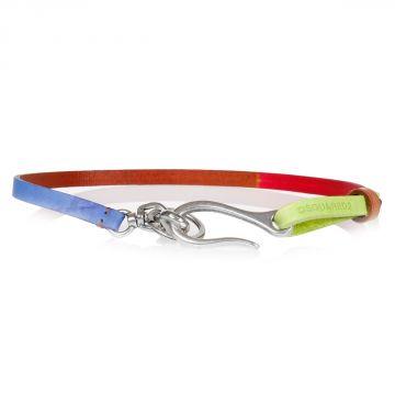 Leather Multicolor Chain