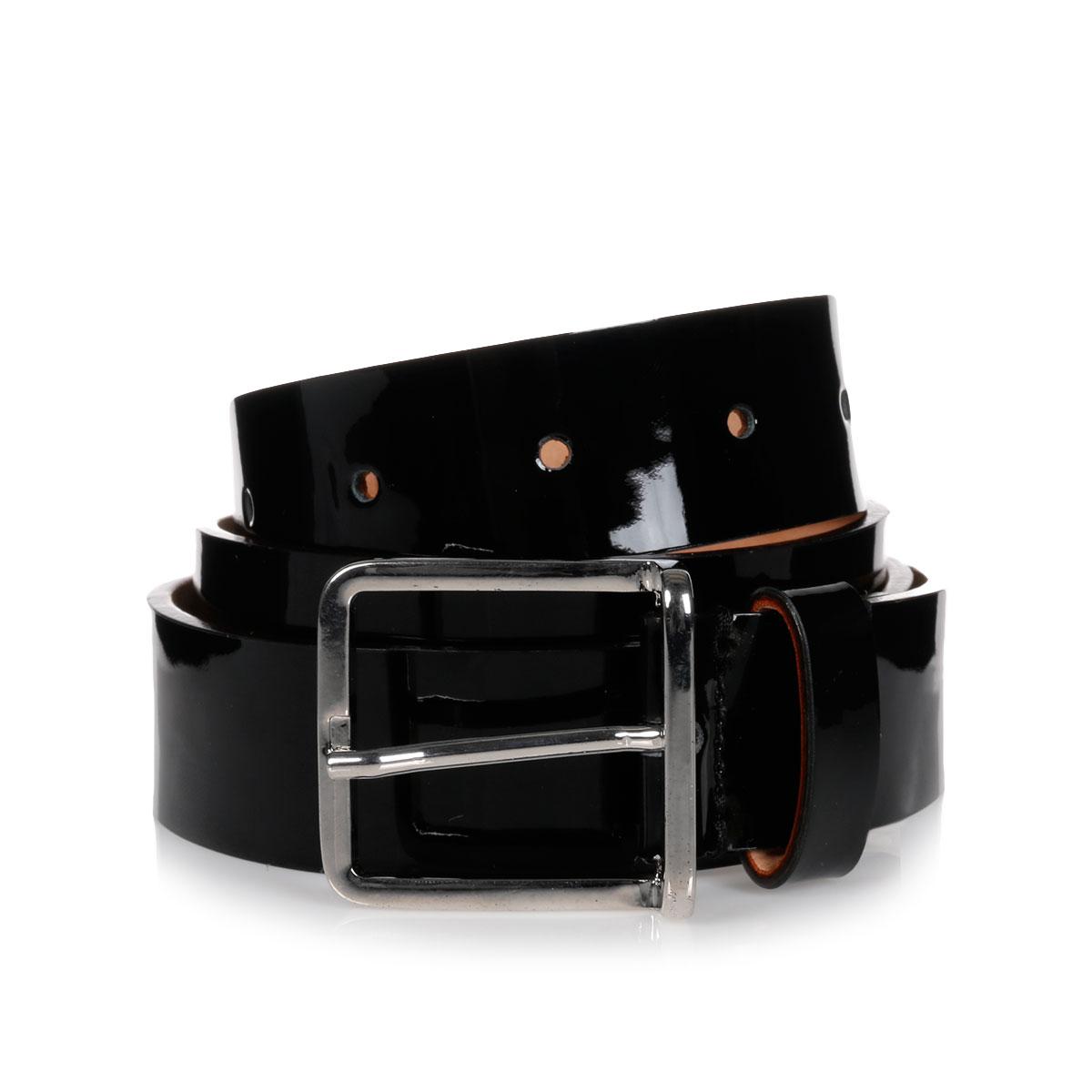 2b863bc290b Dsquared2 Men 30MM Polish Leather Belt - Glamood Outlet
