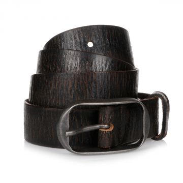 30MM Vintage Effect Leather Belt