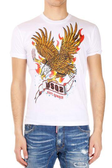 T-Shirt Stampata Chic Dan Fit