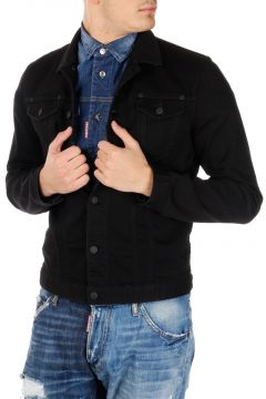 Dark Stretch Denim Jacket