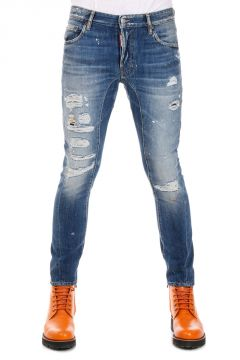 Jeans TIDY BIKER Jean in Denim 17 cm