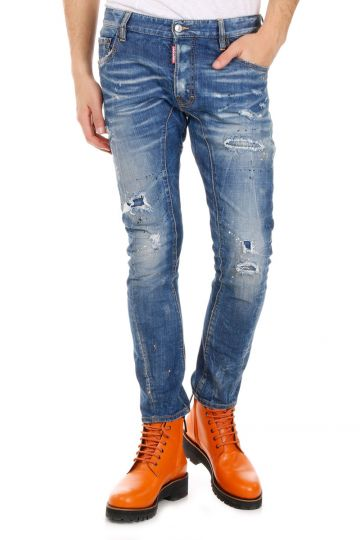 Jeans TIDY BIKER JEAN in Denim Stretch  17 cm