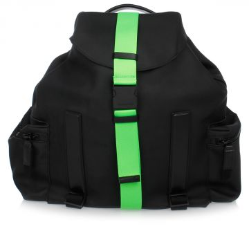 Bucket Backpack with Fluo Detail