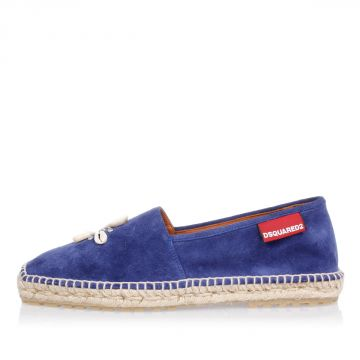 BOAT Suede Espadrillas with Shells