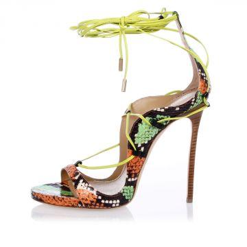 Sandalo in Pelle di Ayers 12 cm