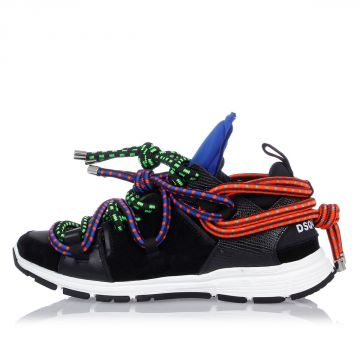BUNGY JUMP Leather Sneakers