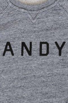 Printed Short Sleeve Sweatshirt