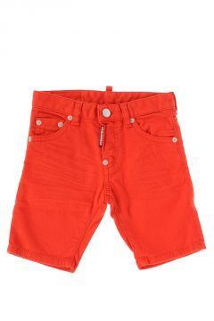 Stretch Denim Shorts Jeans