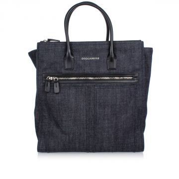 Borsa A Mano in Denim