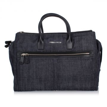 Travelling Bag in Denim