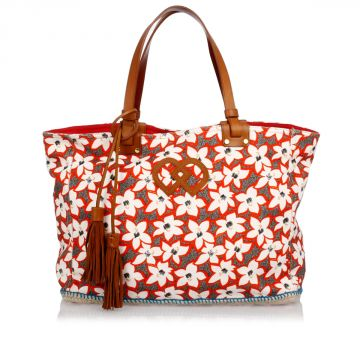 Floral Printed Shopping Bag