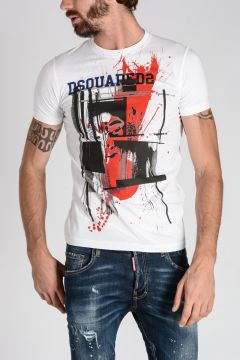T-Shirt SEXY SLIM FIT Stampata
