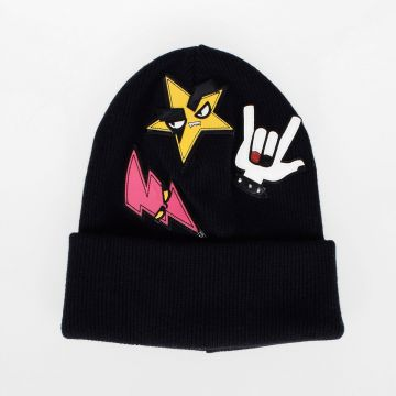Wool PUNK Patch Beanie