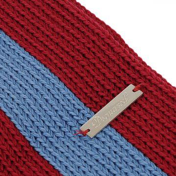 Wool Bicolor Scarf 160 x 7 cm