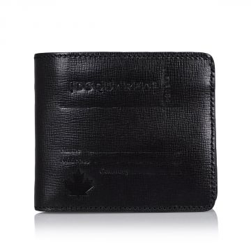 Leather Wallet with Coin Holder