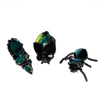 Jewel Insects Brooch