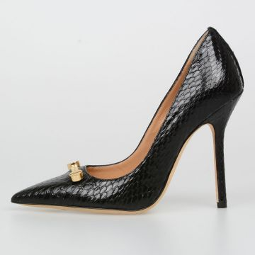 11cm Leather AYERS Pumps