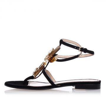 Sandalo Gioiello in Pelle