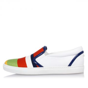 Sneakers slip on in Canvas