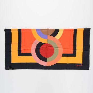 Silk Printed Scarf 86 x 86 cm