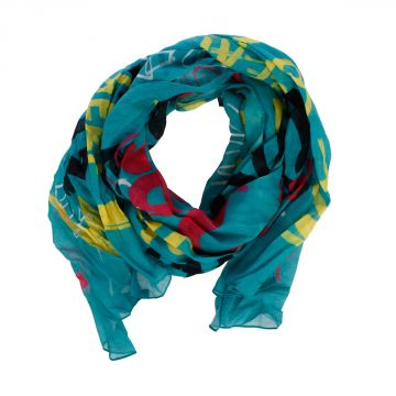 Cotton Printed Scarf 165 x 45 cm