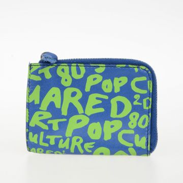 Leather POP Print Pouch
