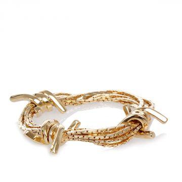 Gold Tone Bracelet With Details