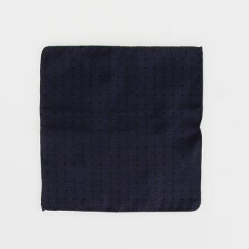 Polka Dot Silk Handkerchief