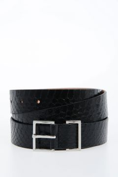 30mm Skin Leather Belt