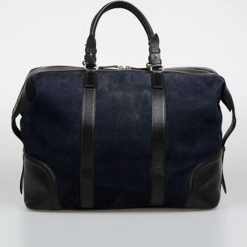 Suede Leather Duffle Bag