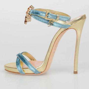 Sandali SISSI In Velluto 12cm