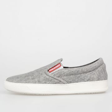 Sneakers Slip On In Tessuto