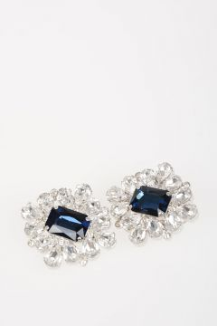 Crystal Embellished Earrings
