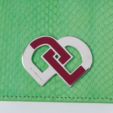 Reptile Printed Mini Shoulder Bag