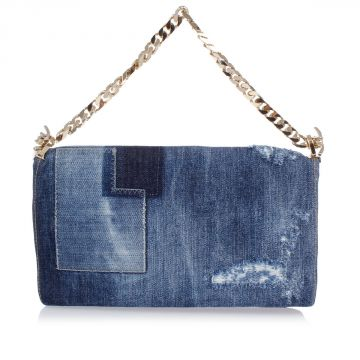 Pochette Mini Borsa in Jeans