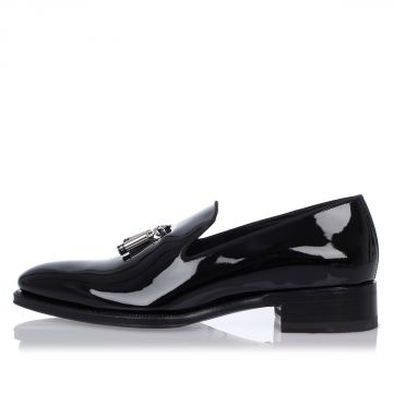Patent Leather tux Loafers