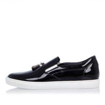 Sneakers TUX Slip On in Pelle di Vernice