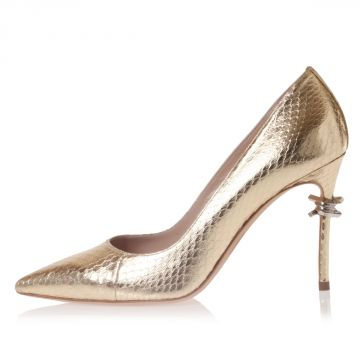 Leather BABE WIRE AYERS Pumps 9 cm
