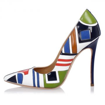 Patchwork Pumps