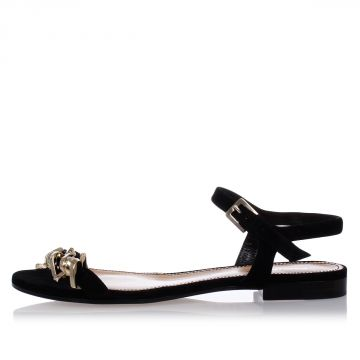 BABE WIRE Flat Suede Sandals