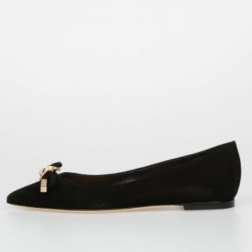 Leather BABE WIRE Ballet Flat